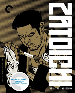 The Criterion Zatoichi set is insane.