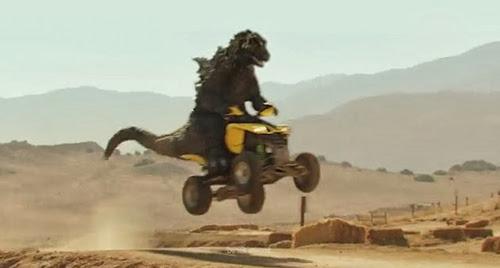 Go-Kart Godzilla! Woo-ooo-oooo-ooo!